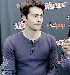 omg this is amazing, you just have that moment when you're staring at each other.... ugh Dylan why do you do this ❤️❤️❤️❤️❤️