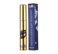 SMACK MY FAT LASH Mascara  Most mascaras lengthen or thicken, but Smack My Fat Lash does both! This dual formula fuses blue volumizing and black extension technologies to create the fiercest black: Le Black. Go on, smack it!