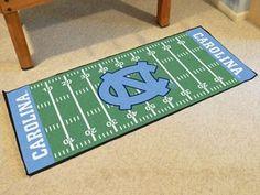 """University of North Carolina - Chapel Hill Football Field Runner 30""""""""x72"""""""""""