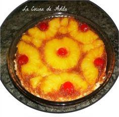 La Cocina de Adita: Tarta de piña, en thermomix al reves