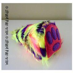 $10.00 Lucky Yeti Feet by Wickandbandit on Handmade Australia