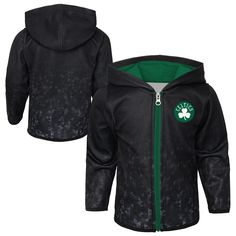 5aef461a7 Cheer on the Boston Celtics in style with this official NBA Boys fleece  hoodie. This