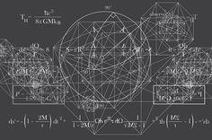 Stephen Hawking Equations