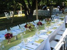 Wedding, Reception, Centerpiece, Anne mendenhall, Table runner