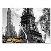 Found it at Wayfair - Paris New York by Philippe Hugonnard Graphic Art on Wrapped Canvas