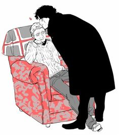 ♥️ Sherlock Fandom, Sherlock John, Sherlock Holmes Bbc, Sherlock Series, Jim Moriarty, Sherlock Quotes, Sherlock Kiss, Johnlock, Benedict And Martin