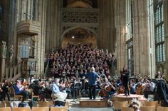 The University Chorus & Orchestra, conducted by Susan Wanless, rehearsing in Canterbury Cathedral, together with soprano Sally Silver. University Of Kent, Canterbury Cathedral, Orchestra, Sally, Singing, Alice, Street View, Music, Silver