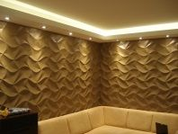 Interior design - decorative panel ORIGAMI and Antica Signoria CHIC. #interiordesign