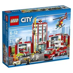 Conheça o sensacional Lego City - Quartel dos Bombeiros,  um conjunto espetacular que vai conquistar a garotada. O Quartel é incrível, repleto de acessórios e veículos para as crianças se sentirem verdadeiros combatentes do fogo. A coorporação de bombeiros da Lego City possui carros, caminhões, helicópteros e os mais bravos combatentes. Com este incrível Quartel as crianças poderão soltar a imaginação e criar as mais animadas aventuras. Lego City é um brinquedo impecável que vai proporcionar…