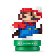 Amazon.com: Amiibo 30th Anniversary Mario Modern Color: Nintendo Wii U: Video Games   @giftryapp