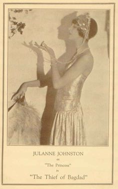 The Thief  of Bagdad (1925) program from the Egyptian Theatre Hollywood.