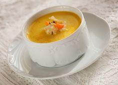csángó csicsókaleves Soup Recipes, Paleo, Panna Cotta, Pudding, Favorite Recipes, Meals, Ethnic Recipes, Desserts, Soups