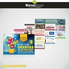 Revista – Guia das Ofertas Limeira > Desenvolvimento de revista Guia das Ofertas de Limeira, 42 anunciantes < #revista #guia #marcasbrasil #agenciamkt #publicidadeamericana