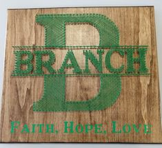 Faith, Hope, Love and Last Name sign Last Name Signs, String Art, Names