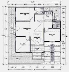 New House Projects Architecture Layout 32 Ideas Brick House Plans, House Plans One Story, Best House Plans, Modern House Plans, House Floor Plans, Bedroom Layouts, House Layouts, House Plan With Loft, Best Flooring