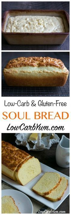 Are you looking for a tried and true low carb bread recipe that has been adequately tested? Check out the low carb Soul Bread recipe! Atkins LCHF Keto THM Banting (this recipe uses whey protein) Ketogenic Recipes, Diabetic Recipes, Low Carb Recipes, Keto Foods, Coconut Flour Recipes Low Carb, Bread Recipes, Induction Recipes, Stevia Recipes, Banting Recipes