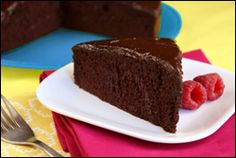 HG's Chocolate-on-Chocolate Frosted Cake 6points