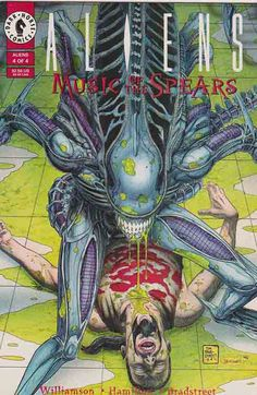 The Aliens comic books were first published by Dark Horse Comics in 1988 and set in the Alien fictional universe. Some stories often feature the company Weyland-Yutani and the United States Colonial Marines. Originally intended as a sequel to James Cameron's Aliens, the first mini-series features the characters of Rebecca 'Newt' Jorden and Corporal Dwayne Hicks. Later series also included the further adventures of Ellen Ripley. Other stories are completely unique to the Alien universe, and…