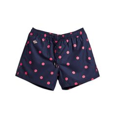 New Dot Nikben Swim Shorts Navy Blue