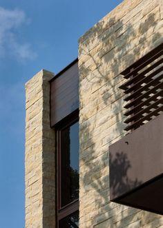 The River Road House Facade Architecture Design