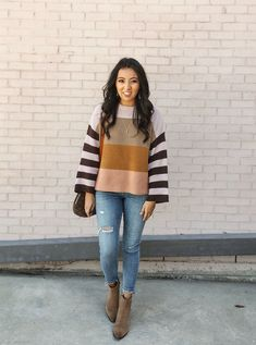 90a2c1d8856 Striped sweater