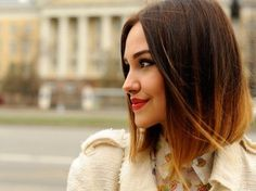 Angled Bob Hairstyles 2014 are most requested bob haircuts for girls and women. Angled Bob Hairstyles 2014 popular celebrity bob haircut for long to medium hair Ombre Bob Hair, Brown Ombre Hair, Ombre Hair Color, Hair Colors, Red Ombre, Blonde Ombre, Ombre Style, Dark Ombre, Subtle Ombre