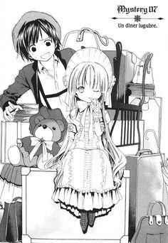 Victorique and Kujyou Kazuya.. Just like Holmes and Watson..