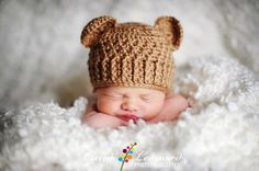 PDF Crochet Pattern  Teddy Bear Hat sizes door TheCrochetSisters, $5.00