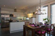 Villa Olivia - keittiö ja ruokailutila | Asuntomessut
