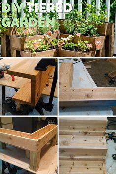 DIY Tiered Garden!