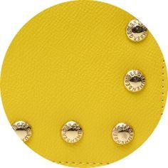 Lemon leather by Grunenberger 1854