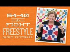 or Fight Freestyle Quilt Pattern by Missouri Star - Missouri Star Quilt Co. - Missouri Star Quilt Co. - Finished size: x />Quilt pattern for squares. From Missouri Star Quilt Company Jenny Doan Tutorials, Msqc Tutorials, Quilting Tutorials, Quilting Projects, Quilting Ideas, Craft Tutorials, Star Quilt Patterns, Star Quilts, Quilt Blocks