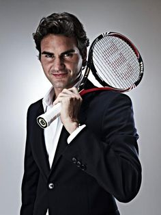 Oh Mr. Federer, looking quite good there...