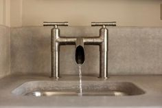 Short Deck Mount Waterbridge Lav Faucets: Remodelista