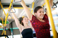 Java Dance Company. Back of the Bus. Perth. Photographer Jarrad Seng, dancers Isabelle Nelson, Sacha Copland.