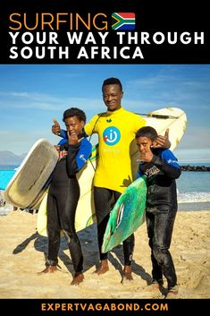 I love to surf, but I'm not very good at it. So I'm spending the next 6 weeks surfing South Africa's best waves with professional instructors. Africa Destinations, Amazing Destinations, Travel Destinations, Holiday Destinations, Destin Beach, Beach Trip, Beach Travel, Hawaii Travel, Kenya Travel