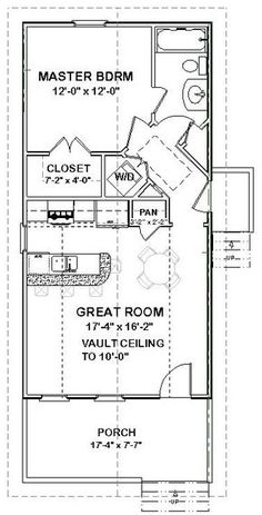 Details about Custom Tiny House Home Cottage Building Plans 1 bed 648 sf ---PDF file Tiny House Cabin, Tiny House Living, Tiny House Design, Tiny House Trailer Plans, Tiny House Layout, Best Tiny House, Cottage Design, Living Room, Kitchen Living