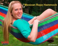 Mexican Rope Hammock for two