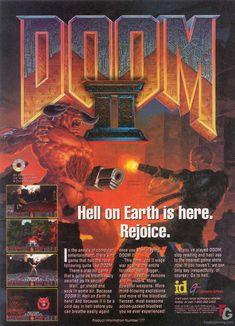 doom game | Doom 2 Doom 2 Ad Big Art | Gallery at FreakyGaming