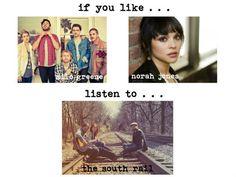 If you like Milo Greene or Norah Jones -- check out The South Rail!