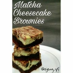 Tried this non-gluten-free version from Ful-Filled.com and it was amazing! I'm not a cheese version but I fell in love with the proportion. It was so balanced, not too cheesy, you definitely could taste the matcha and the chocolate brownie's edge are still crunchy.