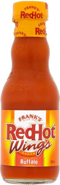 Frank's Red Hot Buffalo Wings Sauce is The Real Deal.