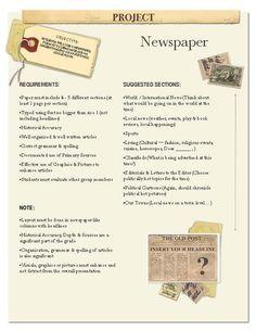 Secker - Menus_Newspaper