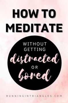 Want to reap the benefits of meditation but hate the idea of sitting still for hours? Get bored easily or distracted while meditating? Try some of these tips to still enjoy the peacefulness and sense of calm brought on by meditation, without having to endure it as a chore. Meditation For Beginners, Yoga Poses For Beginners, Gentle Parenting, Parenting Advice, Dealing With Depression, Meditation Benefits, How Do I Get, Life Advice, Working Moms