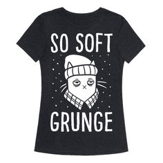 This grunge cat shirt is perfect for anyone who is so grunge and also so into cats! If you don't give a damn about anything but your cool grunge life, grab this cat shirt and get ready to get cool!