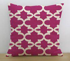 Geométricas Cobertor Funda de almohada caliente rosa patrón cojín Funda Sofá Cama, Decoración