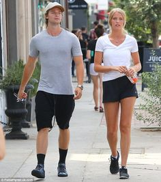 Moved on? Patrick Schwarzenegger and a mystery blonde were spotted at Joan's On Third in L...