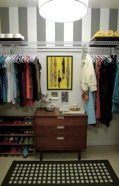 awesome closet #closet #organize #bedroom