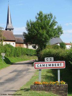 Le village de Camembert - Normandie - France