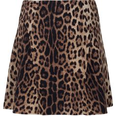 MOSCHINO Cheap and Chic Leo Full Body Black Brown Flared mini skirt in... (2.440 BRL) ❤ liked on Polyvore featuring skirts, mini skirts, skater skirt, pleated mini skirt, flared mini skirt, brown pleated mini skirt and black skater skirt